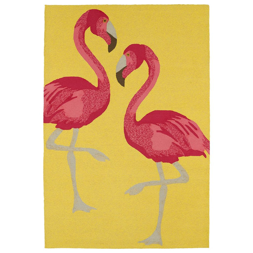 Kaleen Sea Isle Flamingo Rug