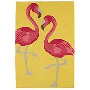 Kaleen Sea Isle Flamingo Rug