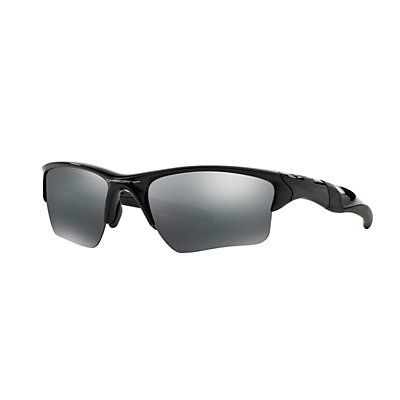 Oakley Half Jacket 2.0 XL OO9154 62mm Wrap Black Iridium Sunglasses