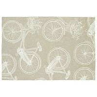 Kaleen Sea Isle Bicycle Rug