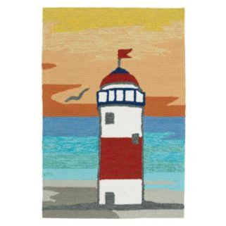Kaleen Sea Isle Lighthouse Rug