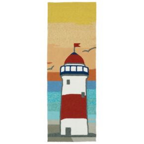 Kaleen Sea Isle Lighthouse Rug