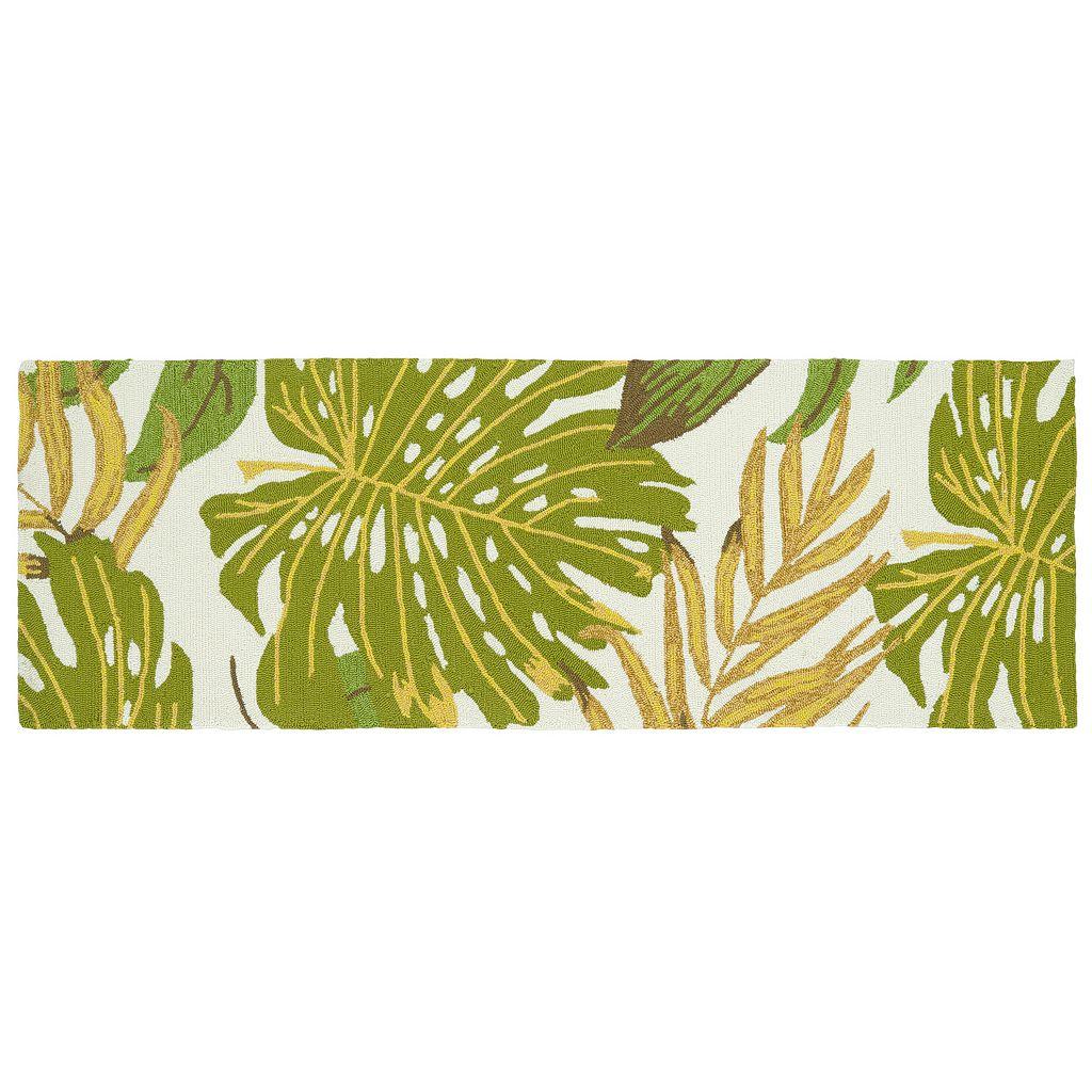 Kaleen Sea Isle Tropical Leaves Rug