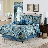 Waverly Moonlit Shadows Reversible Quilt Set