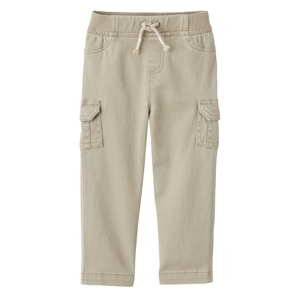 Toddler Boy Jumping Beans® Stretch Twill Cargo Pants