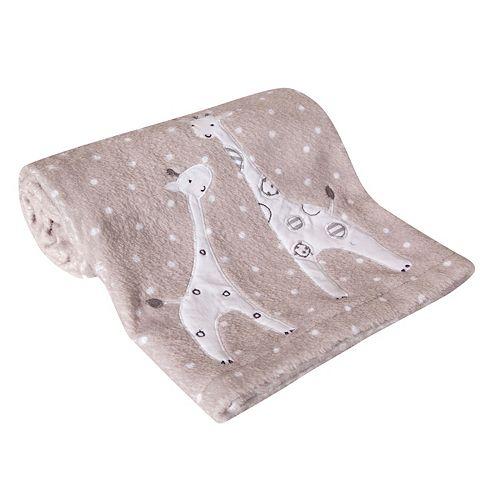 Lambs & Ivy Elias Giraffe Fleece Blanket