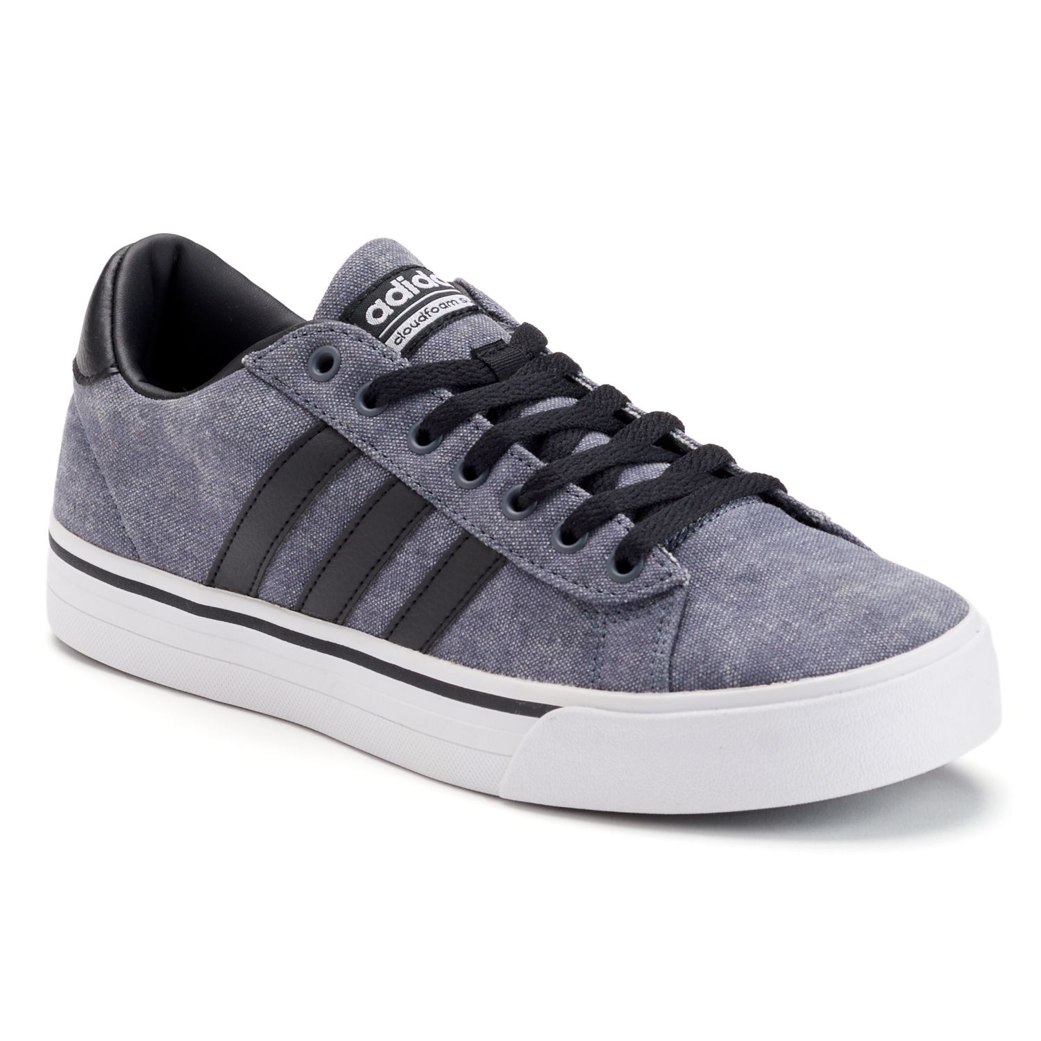 adidas NEO Cloudfoam Super Daily Men\u0027s Shoes. Gray Black. sale