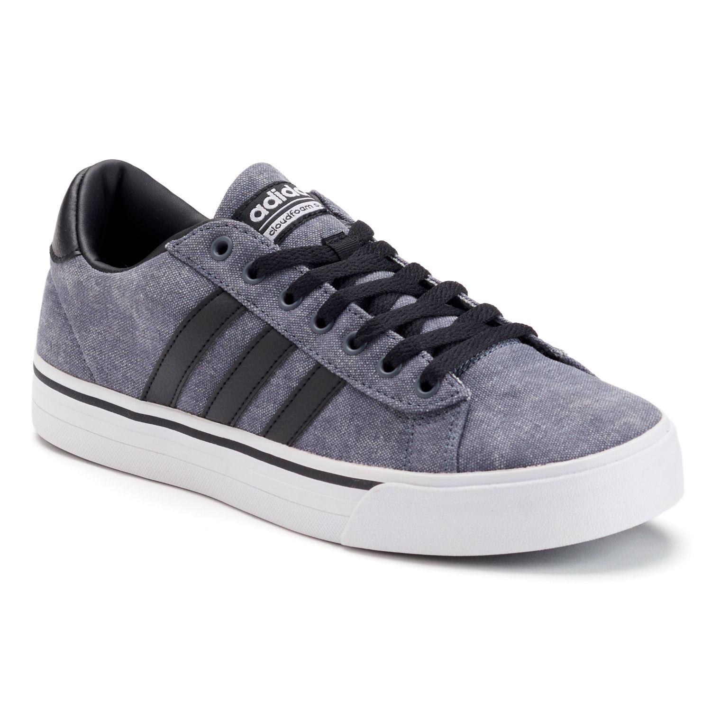 adidas NEO Cloudfoam Super Daily Men\u0027s Shoes. Gray Black. sale