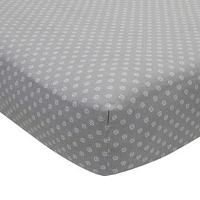 Lambs & Ivy Geometric Fitted Crib Sheet