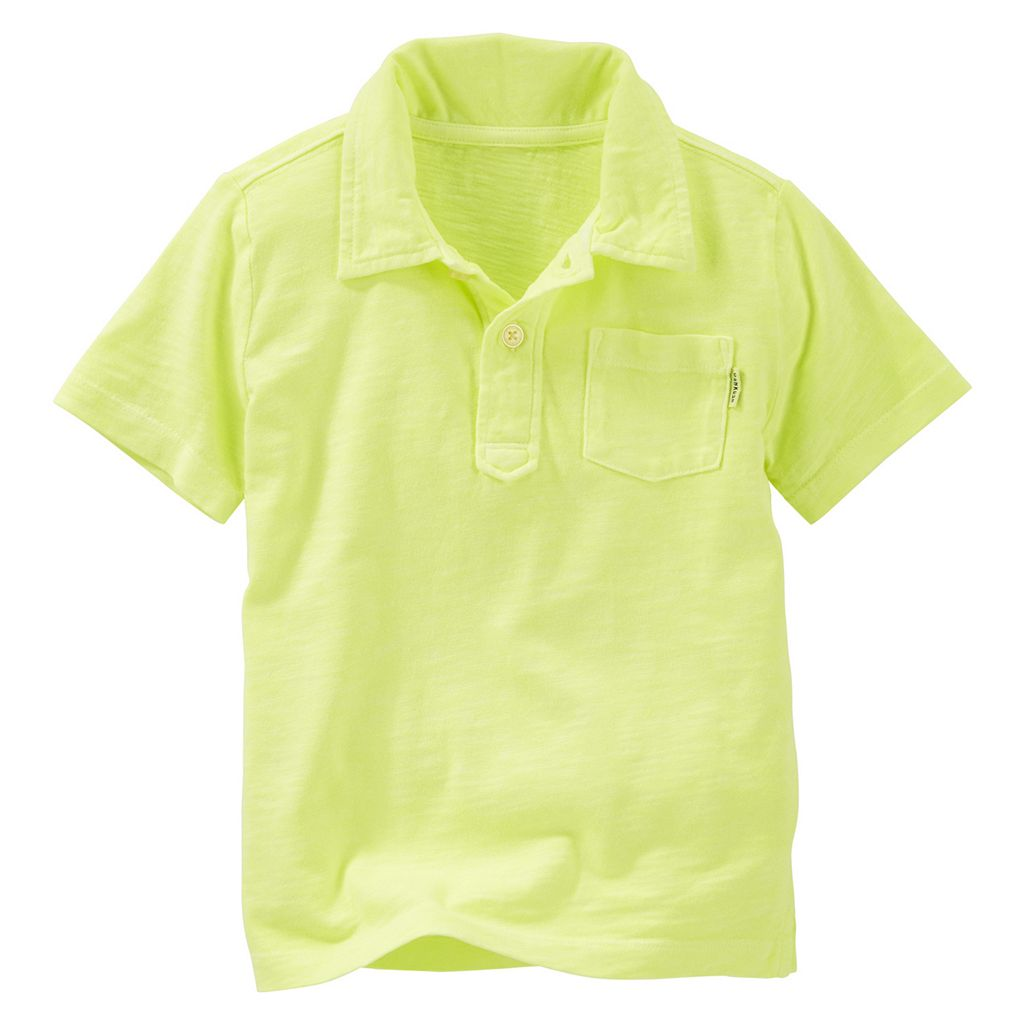 Boys 4-12 OshKosh B'gosh® Solid Jersey Polo