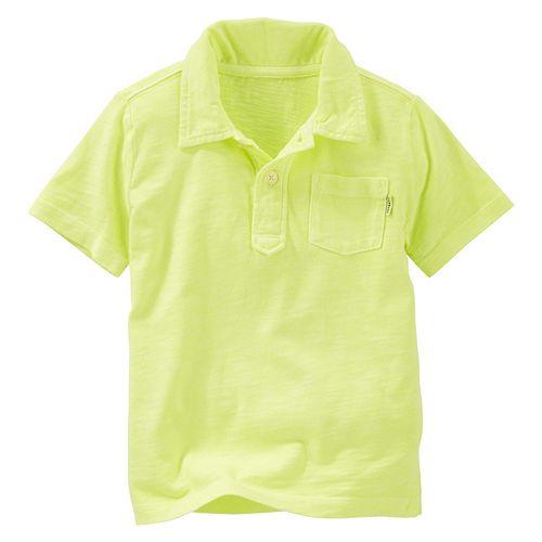 Boys 4-12 OshKosh B'gosh® Solid Jersey Polo