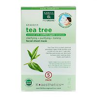 Earth Therapeutics 5-pk. Tea Tree Oil Face Masks