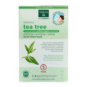 Earth Therapeutics 5-pk. Tea Tree Oil Face Masks