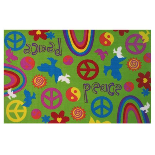 Fun Rugs Fun Time Peace & Harmony Rug - 3