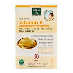Earth Therapeutics 5 pkVitamin E Face Masks