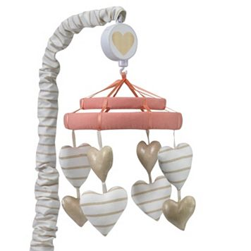 Lambs & Ivy Dawn Hearts Nursery Mobile