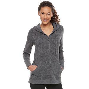 Women's Tek Gear® Hooded Zip-Front Tunic