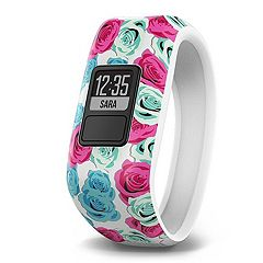 Kids Garmin Vivofit Jr. Real Flower Activity Tracker