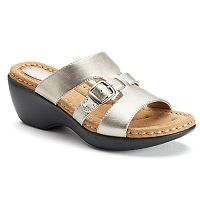 Croft & Barrow® Patzi Women's Wedge Sandals