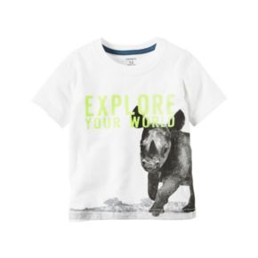 Baby Boy Carter's Rhino Graphic Tee