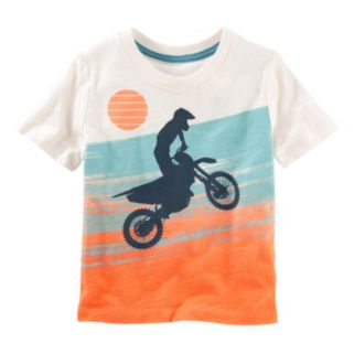 Toddler Boy OshKosh B'gosh® Slubbed Moto Surf Graphic Tee