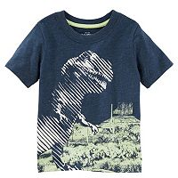 Toddler Boy OshKosh B'gosh® Glow-in-the-Dark Abstract Dinosaur Graphic Tee