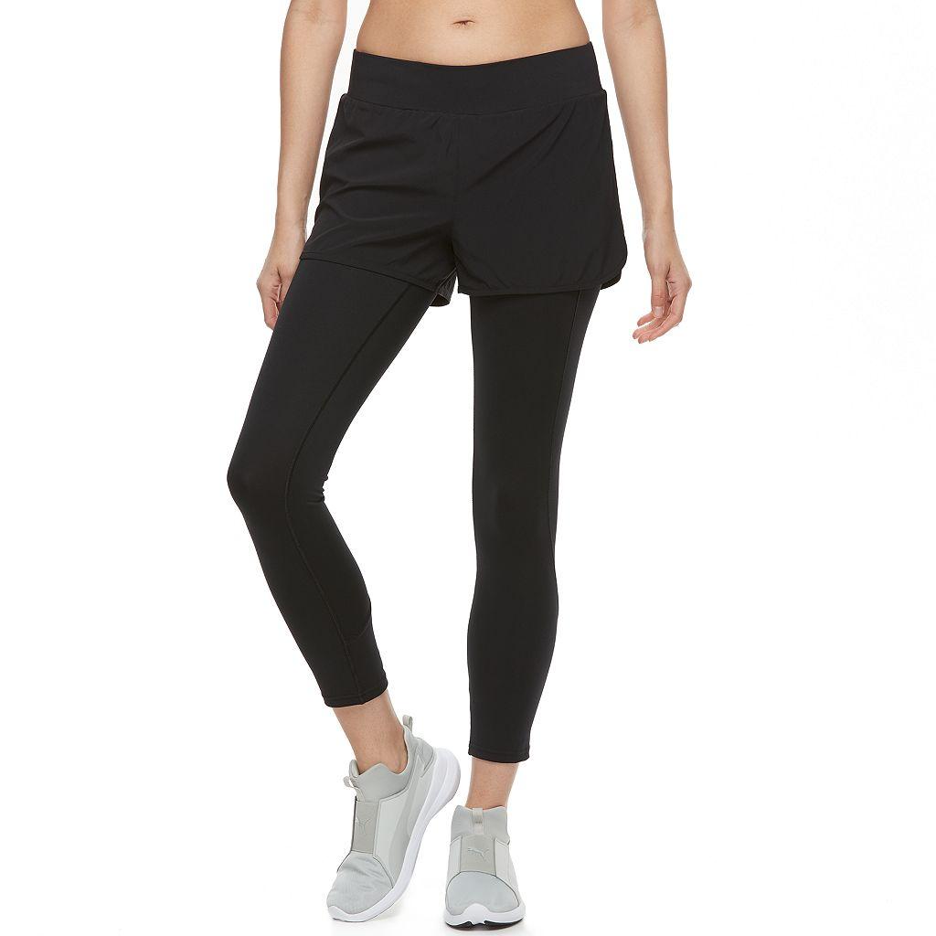 Women's Tek Gear® 2-in-1 Shorts & Leggings