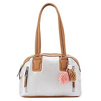 Rosetti Claire Double Zip Satchel