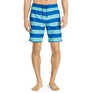 Big & Tall IZOD Striped Performance Board Shorts