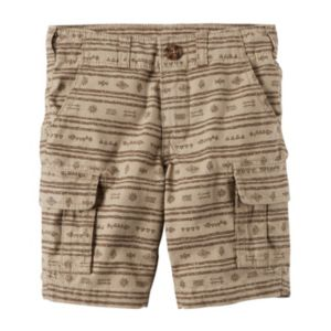Baby Boy Carter's Printed Cargo Shorts