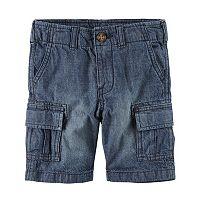 Baby Boy Carter's Denim Cargo Shorts