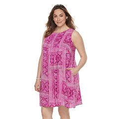 Plus Size SONOMA Goods for Life™ Pintuck Dress