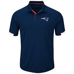 Big & Tall Majestic New England Patriots Polo