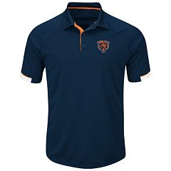 Big & Tall Majestic Chicago Bears Polo