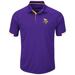 Big & Tall Majestic Minnesota Vikings Polo