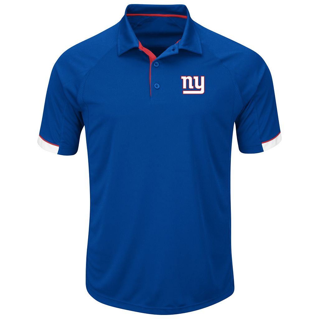 Big & Tall Majestic New York Giants Polo