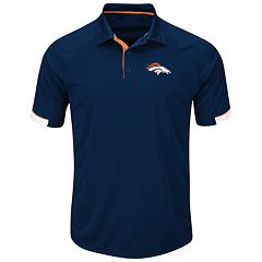 Big & Tall Majestic Denver Broncos Polo