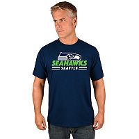 Big & Tall Majestic Seattle Seahawks Team Color Tee