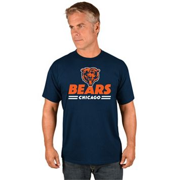 Big & Tall Majestic Chicago Bears Team Color Tee