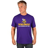 Big & Tall Majestic Minnesota Vikings Team Color Tee