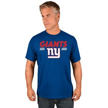 Big & Tall Majestic New York Giants Team Color Tee