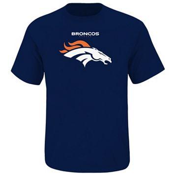 Big & Tall Majestic Denver Broncos Team Color Tee