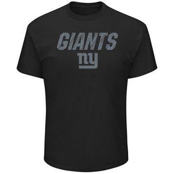 Big & Tall Majestic New York Giants Reflective Tee