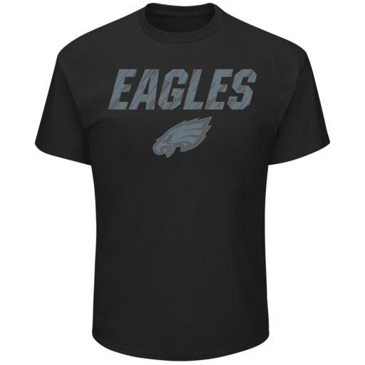 Big & Tall Majestic Philadelphia Eagles Reflective Tee