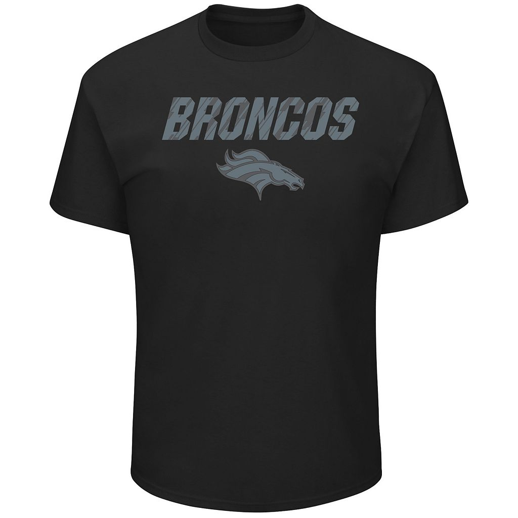 Big & Tall Majestic Denver Broncos Reflective Tee
