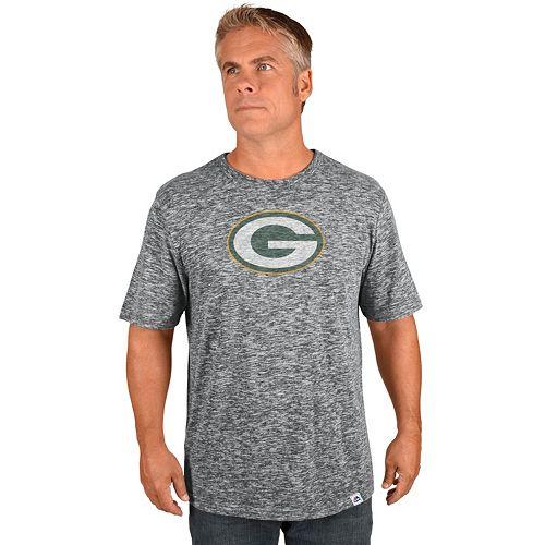 Big & Tall Majestic Green Bay Packers Slubbed Tee