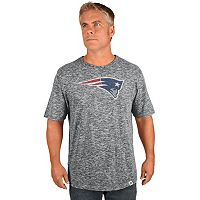 Big & Tall Majestic New England Patriots Slubbed Tee