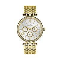 Caravelle New York by Bulova Women's Crystal Stainless Steel Watch - 44N109