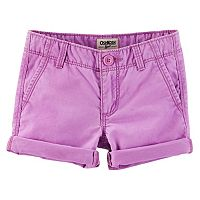 Toddler Girl OshKosh B'gosh® Neon Roll-Cuff Shorts