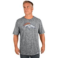 Big & Tall Majestic Denver Broncos Slubbed Tee